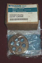 FRIGIDAIRE GEAR   CRANK PART  5308015496 STEEL NEW IN SEALED PACKAGE W BOX