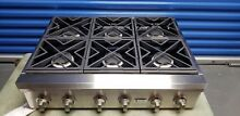 GE Monogram 36in 6 Burner Rangetop