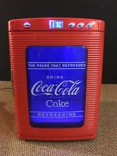Rare Mini Koolatron Coca Cola Can Fridge Tailgate Portable Coke