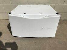 Whirlpool Duet WHP1500SQ0 27x27x15 Laundry Pedestal with Storage Drawer