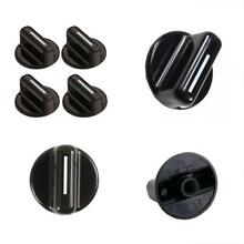 Pack Of 4 131858000 Washer Dryer Rotary Knob Replacement For FRIGIDAIRE Black