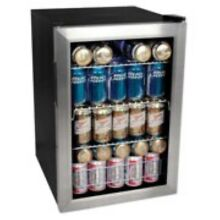 EdgeStar BWC90 17 Inch Wide 84 Can Beverage Cooler with Extreme Cool