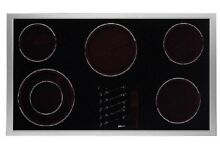 Dacor Renaissance ETT3652S 36  Smoothtop Electric Cooktop  Stainless Steel  NEW