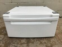 LG Pedestal  WDP3W  for a washer or dryer white Pedestal