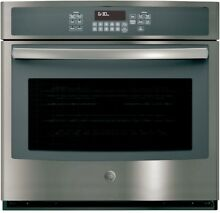 GE JT3000EJES 30  Single Electric Built In Slate Color Wall Oven Retail  1450 00