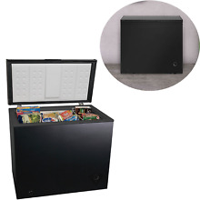 7 0 cu ft Chest Deep Freezer Upright Arctic King Black Home Recessed Handle