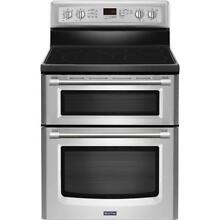 Maytag Gemini Stainless Steel Freestanding Electric Convection Double