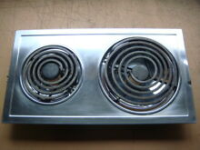 Jenn Air  88264 and 800134   2 Burner Electric Stove Stainless Steel Cartridge