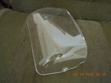 Frigidaire  Kenmore Refrigerator Clear Plastic  Dairy Bin Cover   240337712