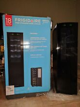 Frigidaire Wine Chiller Cooler 18 Bottle Black Dual Zone Digital LED Fridge