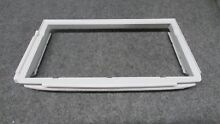 12585802Q AMANA WHIRLPOOL KENMORE REFRIGERATOR BOTTOM DRAWER COVER FRAME