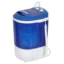 9 lbs Portable Washing Machine Release Hands Traveling Washer W  Timer Control