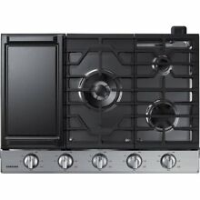NEW  Samsung NA30K6550TS 30  Gas Cooktop  Stainless Steel   NEW