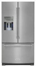 KitchenAid KRFF707ESS 26 8 cu ft  Refrigerator