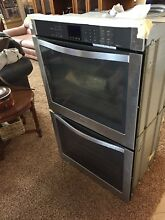 Whirlpool  Gold Series  Stainless Double Wall Oven WOD93ECOAS04 New 30 x50  Face