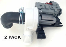 2 Pk  Washing Machine Water Pump for Whirlpool  Sears  AP5650269  W10536347