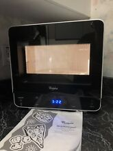 Whirlpool WMC20005YW 0 5 Cu Ft  White Counter top Microwave Pre owned