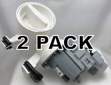 2 Pk  Washer Motor   Pump for Whirlpool  Sears  AP6023956  WPW10730972