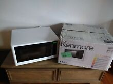 New Open Box Kenmore 1 6 Cu  Ft  Microwave oven countertop  white