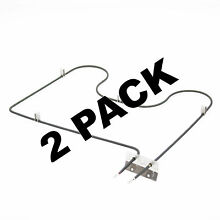 2 Pk  Bake Element for Maytag  Whirlpool  AP4656327  PS2362492  7406P428 60