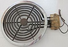 1950 s General Electric Stove BURNER ELEMENT 9 3 8  Plug Base STROTOLINER