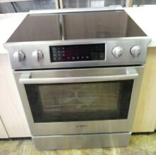 Bosch Slide in Glass top Stove Stainless Steel  HEI8054U