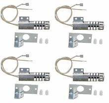 4 X 4342528   Gas Range Round Igniter 4 Pack for Whirlpool