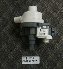 Whirlpool Washer Water Pump W10915703 W10850007