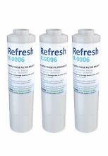 Refresh R 9006 Refrigerator Water Filter  3 Pack  New