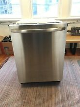 GE 24  Dishwasher Stainless Steel in used condition