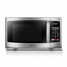 Toshiba EM925A5A SS Microwave Oven with Sound On Off ECO Mode and LED Lighting