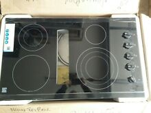 Kenmore Elite 36  Downdraft Electric Cooktop Black 44129