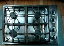 DCS CT 304 Stainless Steel 30 in  Gas Gas Cooktop