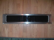 Frigidaire Kenmore 139038836 Wall Oven Control Panel SS Stainless Steel Used