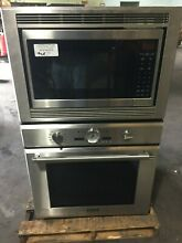 Thermador Stainless Steel Oven and Microwave