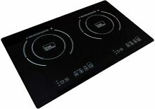 True Induction TI 2B Counter Inset Double Burner Induction Cooktop Refurbished