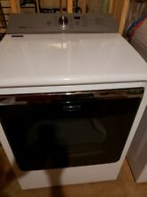 Maytag MEDB835DW 29in  8 8 cu  ft  Front Load Electric Dryer   White
