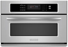 Kitchenaid KBHS109SSS 30  Built in Convection Microwave Oven  Stainless Steel