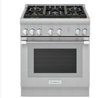 NEW  Thermador PRG305WH Pro Harmony 30  Gas Range  Stainless Steel   NEW