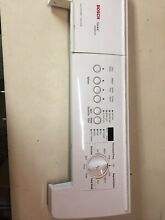 Bosch Washer Control Panel W  Interface 436433  436437 WITH Board