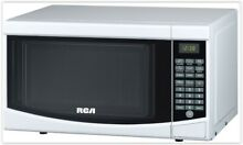 Low Profile Microwave Oven RV Dorm Mini Small Best Compact Kitchen Countertop