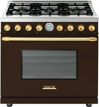 Superiore Deco Series  RD361GCMG 36 Inch Freestanding Gas Range