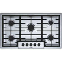 Bosch NGM5655UC 500 Series 36  Built In Gas Cooktop  Stainless steel   NEW
