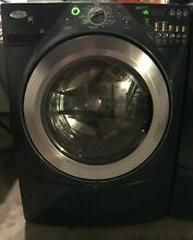 GE Whirlpool Washer and Dryer Combo with Pedastals