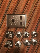 Genuine Vintage Westinghouse Oven Timer Dials And Switches