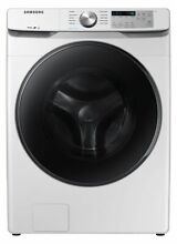 Samsung 4 5 cu  ft  Front Load Washer with Steam   White