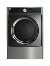 Kenmore Elite 7 4 cu  ft  Smart Gas Dryer with Accela Steam Metal Silver