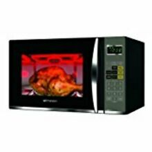 Emerson 1 2 cu ft 1100 W Microwave with Grill LED  Digital Glass LED Safe Lock