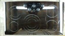 GE Profile 30  Electric Cooktop With Built In Knob Control Model P962B M3BB