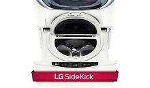 LG WD100CW    27  W x 14  H  White Pedestal w  Built In 1 0 Cu Ft Washer
